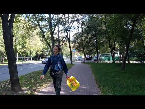 Москва 564 Палехская улица лето утро