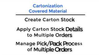 40 Da Vinci Unified Training - Intelligent Pick and Pack with Warehouse Cartonization