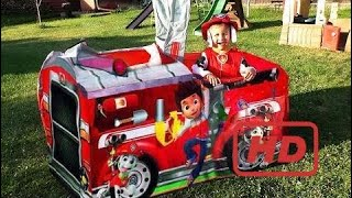Roma And Diana Play Puppy Patrol Fire Truck Toys Paw Patrol Toys Unboxing Paw Patrol  # 315