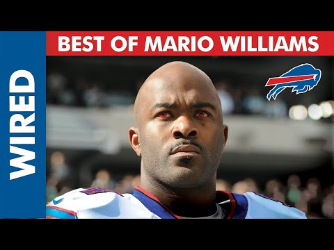 Buffalo Bills' Mario Williams Wired