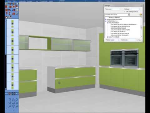 Ingenieria de mueble con teowin cocinas integrales youtube for Software cocinas integrales