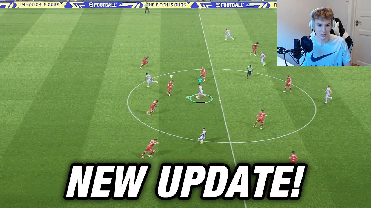 Download eFOOTBALL 2022 has finally been UPDATED - NEW GAMEPLAY