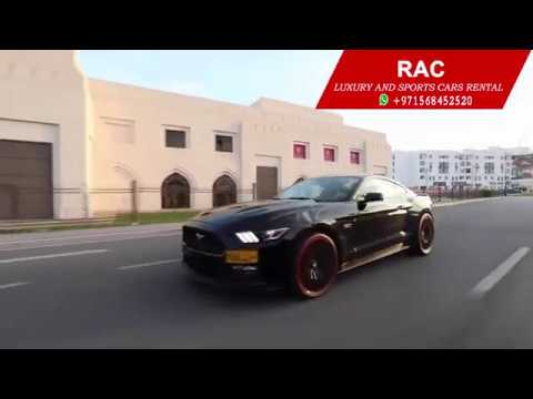 ford mustang rental in dubai | luxury cars rental dubai | rac