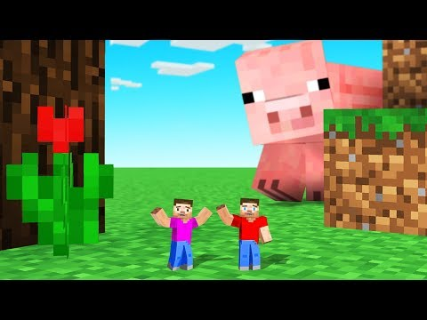 MINECRAFT But We Are TINY!
