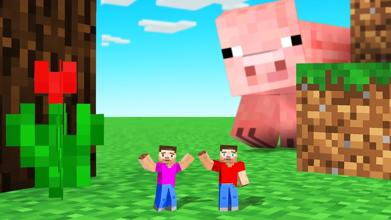 MINECRAFT But We Are TINY! thumbnail