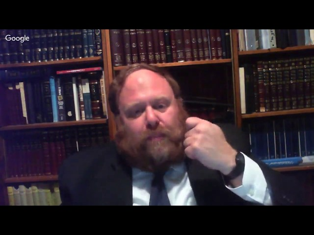 Rabbi Avrohom Eliyahu Kaplan Yahrzeit Shiur