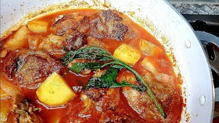 STEWED CHICKEN AND POTATOES  Pollo Guisado  Mexican Style Stewed Chicken Recipe