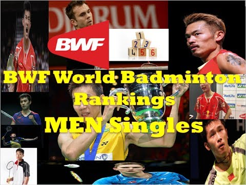 Badminton BWF World Rankings - MEN Singles