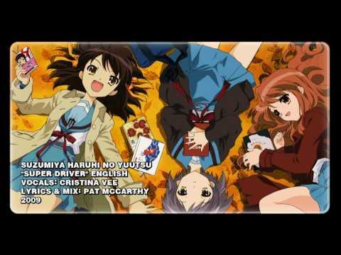 """Haruhi Suzumiya- """"Super Driver"""" ENGLISH"""