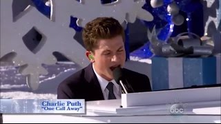 Charlie Puth - One Call Away (Performance Disney Parks Christmas Day Parade)