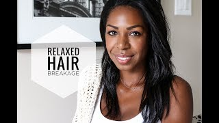 Why Your Relaxed Hair Is Breaking: Tips & Tricks To Get It Healthy | Style Domination