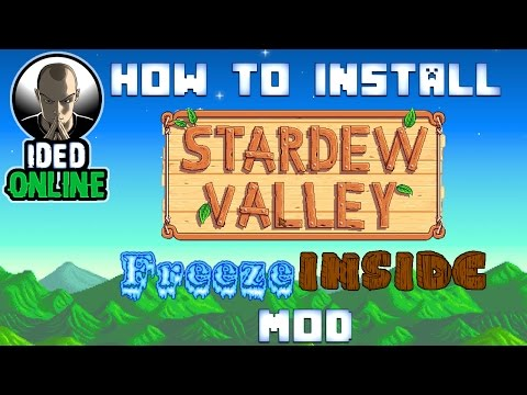 stardew valley how to download mods mac