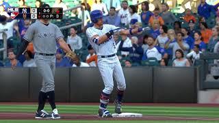 MLB 18 The Show Gameplay NY Yankees @ NY Mets. Luis Severino vs. Jacob deGrom