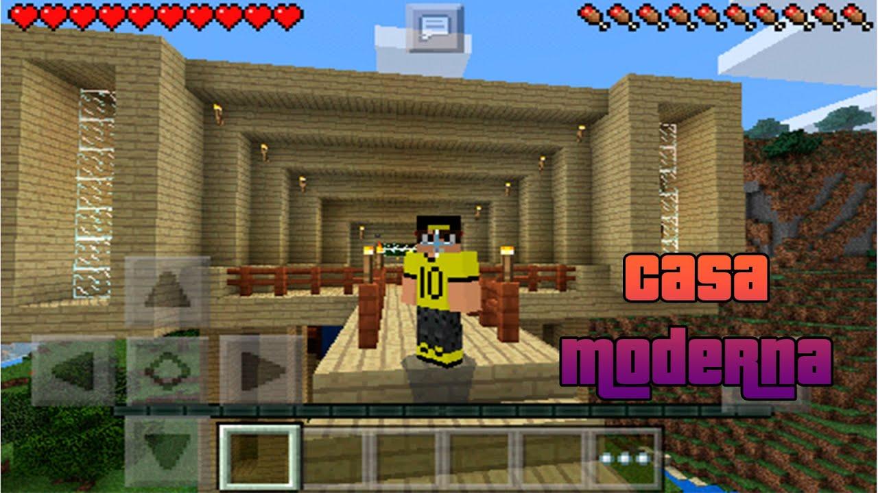 Casa moderna para minecraft pe link de descarga for Casa moderna en minecraft pe 0 16 0