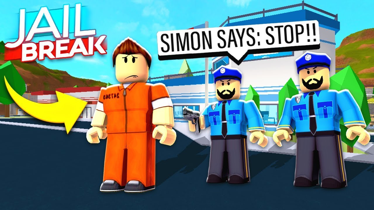 JAILBREAK SIMON SAYS in ROBLOX!
