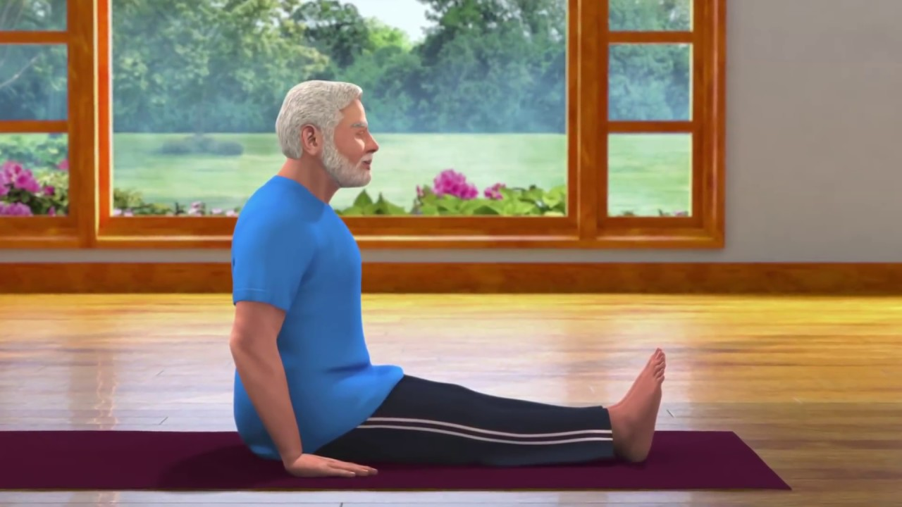 Yoga with Modi : Vajrasana Hindi