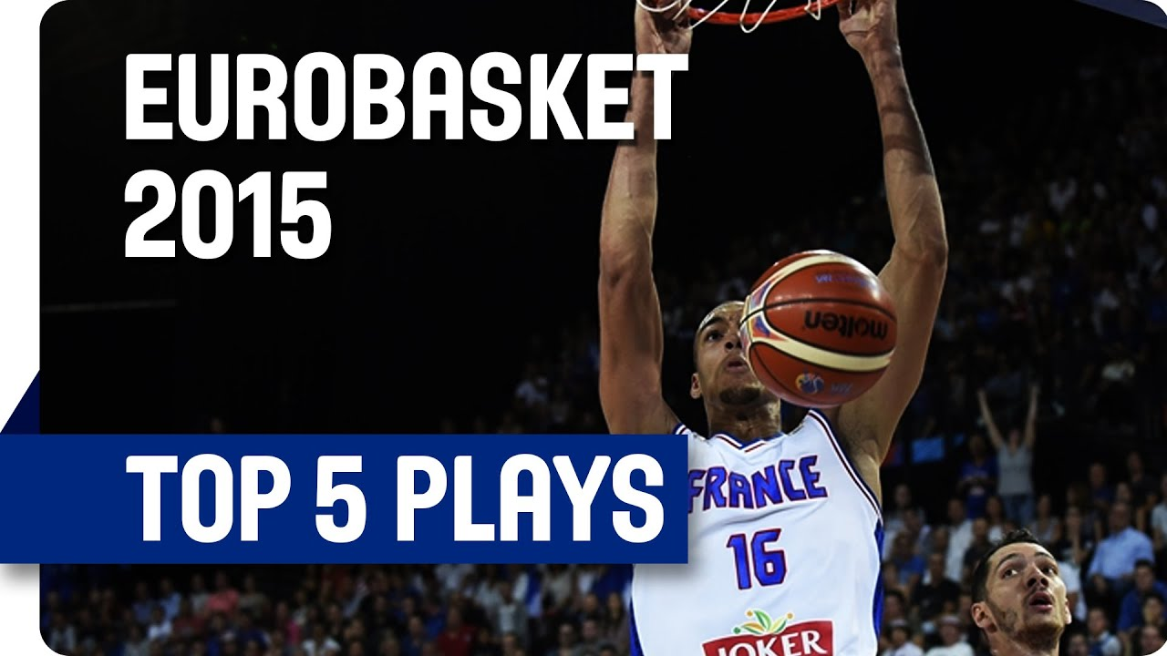 Top 5 Plays - Day 3 - EuroBasket 2015