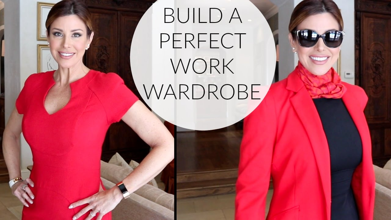 61ce9589999 Office Friendly Outfits   No Fail Work Wardrobe Tips - YouTube