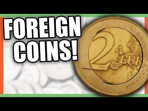 5 FOREIGN COINS WORTH MONEY - RARE WORLD COINS TO LOOK FOR!!