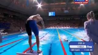Чемпионат Мира по плаванию 2013 Барселона 4х200м вольный стиль мужчины финал