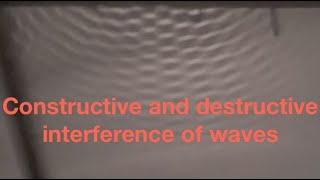 Constructive and destructive interference and Young's slits experiment: fizzics.org thumbnail