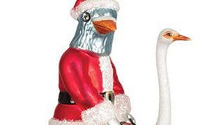 PIGEON SANTA and more WEIRD DECORATIONS -- The 12 Days Of LÜT