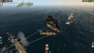 THE PIRATE CARIBBEAN HUNT LETS PLAY EP8 ATTACKING PORT TIBURON AND GETTING WRECKED AT SHANK REEF