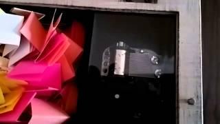 Müzik kutusu minnik kraliçeye :)