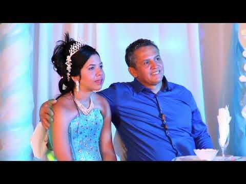 Quinceañera Melissa Beaton. Highlights. Holguin. Cuba. August 2015