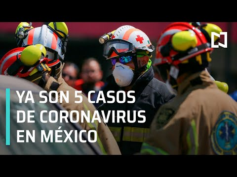 México confirma 5 casos de coronavirus COVID-19 - Despierta