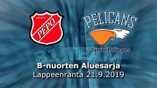 La 21.9.2019 PEPO - Pelicans B1 Team