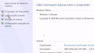 Windows 7 Ultimate on Athlon XP 3200+