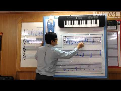 สอนดนตรี กระดานขานโน้ต