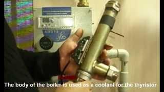 Запуск электродный котел АЛГО и регулятор мощности в системе отопления \ Electrode boiler(Electrode boiler ALGO and PI controller power in the heating system \ Электродный котел АЛГО и ПИ регулятор мощности в системе отопления\..., 2014-12-27T19:01:18.000Z)