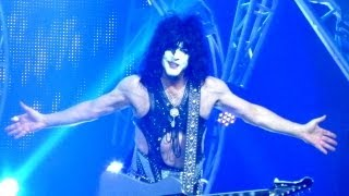 KISS LIVE CONCERT FROM HOLLYWOOD FLORIDA HARD ROCK SIMMONS STANLEY FLYING LOVE GUN 8/18/2013