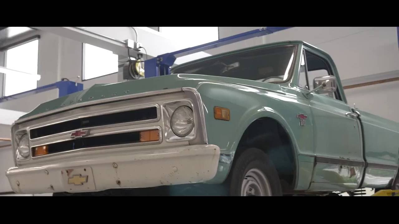 1963 72 Chevy Truck Long Bed To Short Conversion Kit 67 C10 Wiring Diagram Installation Youtube