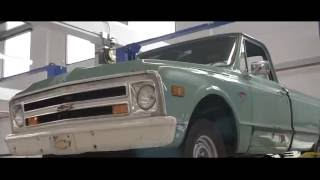 1963-72 Chevy Truck Long Bed to Short Bed Conversion Kit Installation