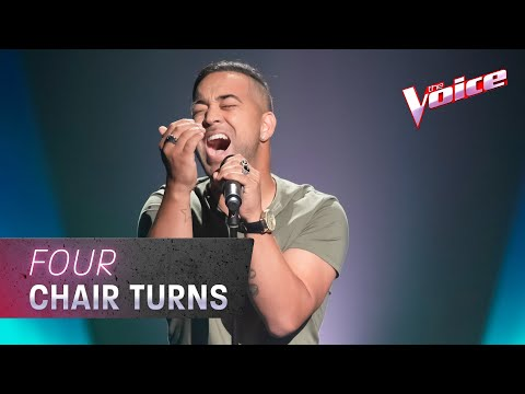 The Blind Auditions: Chris Sebastian Sings 'Jealous' | The Voice Australia 2020