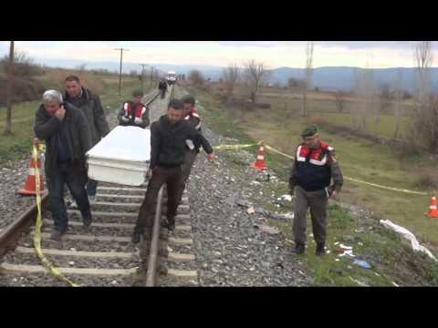 DENİZLİ'DE TREN KAZASI