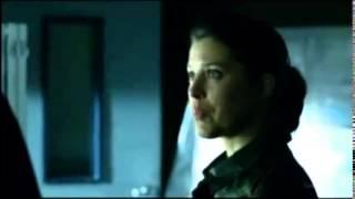фрагмент из сериала Стрела - разговор Лайлы и Джона, поддержка Дэдшота