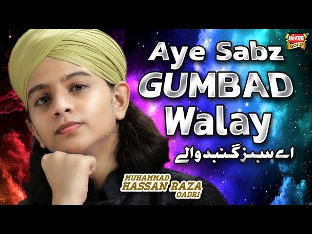 Muhammad Hassan Raza Qadri - Aye Sabz Gumbad Walay - New Ramzan Heart Touching Naat 2020 -Heera Gold
