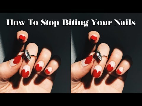 how to stop toddlers biting their nails