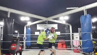 40대(청) vs 30대(적) 라이트 스파링 2라운드