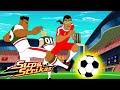 Gambar cover S5 E8 - License to Coach | SupaStrikas Soccer kids cartoons | Super Cool Football Animation | Anime