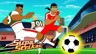 S5 E8 - License to Coach | SupaStrikas Soccer kids cartoons | Super Cool Football Animation | Anime