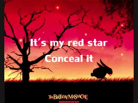The Birthday Massacre - Red Stars [Lyrics]