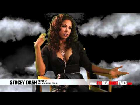 On The Set Of The New Night Tales - Stacey Dash Interview