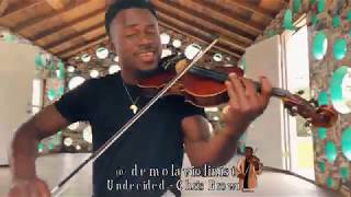 Chris Brown - Undecided (Violin cover) | DEMOLA