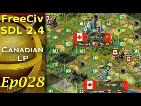 FreeCiv 2.4.0 [SDL Client] Canadian LP - Ep028
