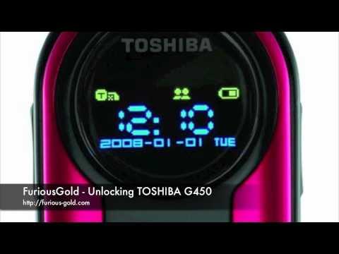 FuriousGold Tutorial video unlocking Toshiba G450